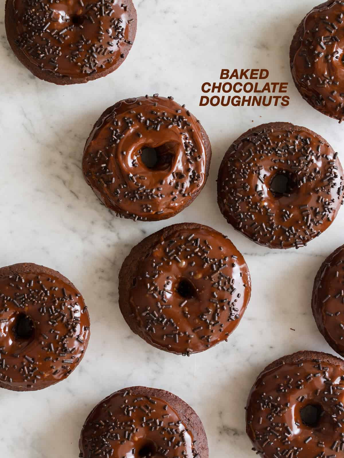 Baked Chocolate Doughnuts | Recipe | Spoon Fork Bacon