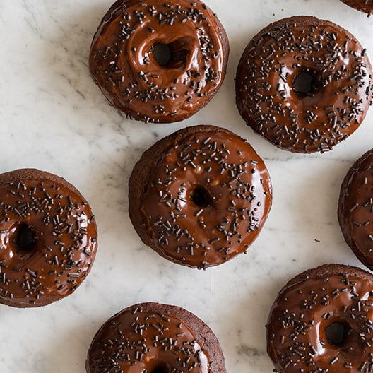 Baked Chocolate Doughnuts | Recipe