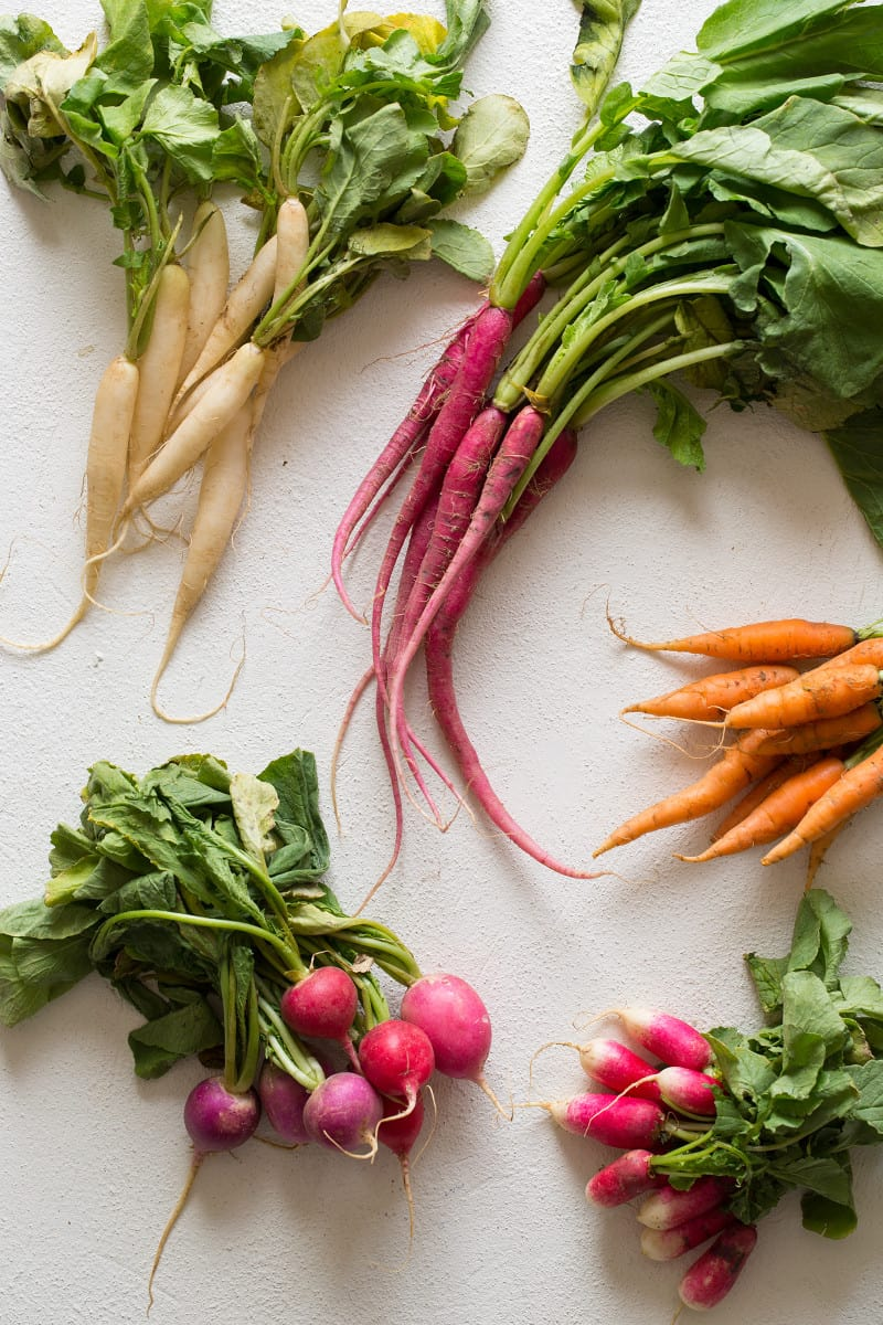 Spring Root Vegetables for a Salmon Recipe
