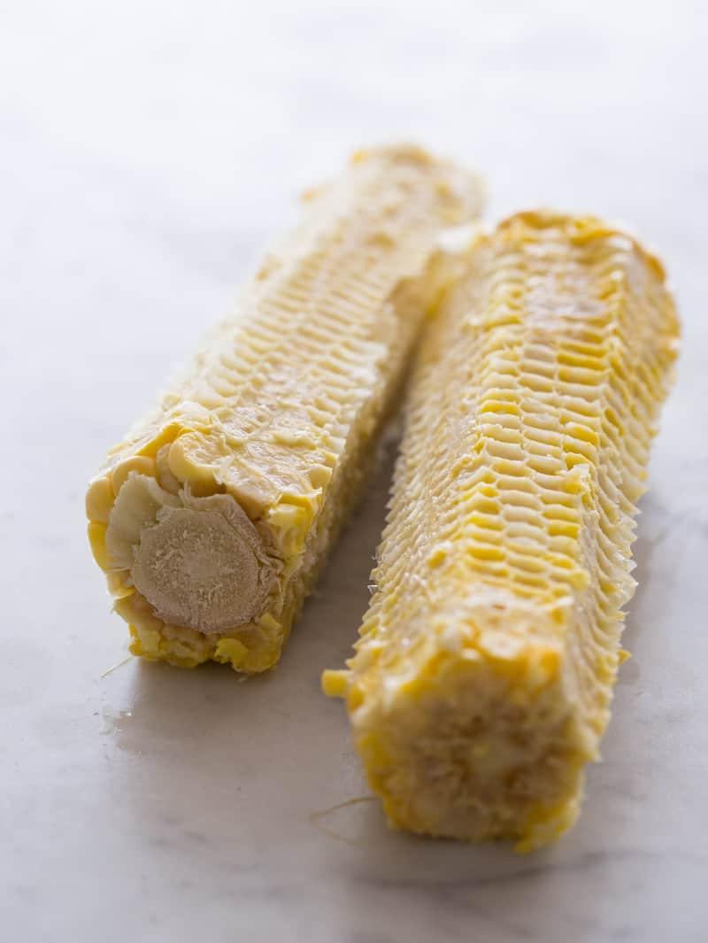 Corn for Corn and White Bean Salsa