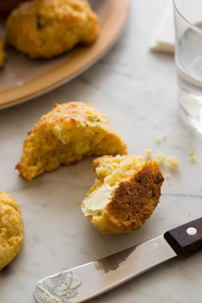 Light and Fluffy Cornmeal Biscuit recipe