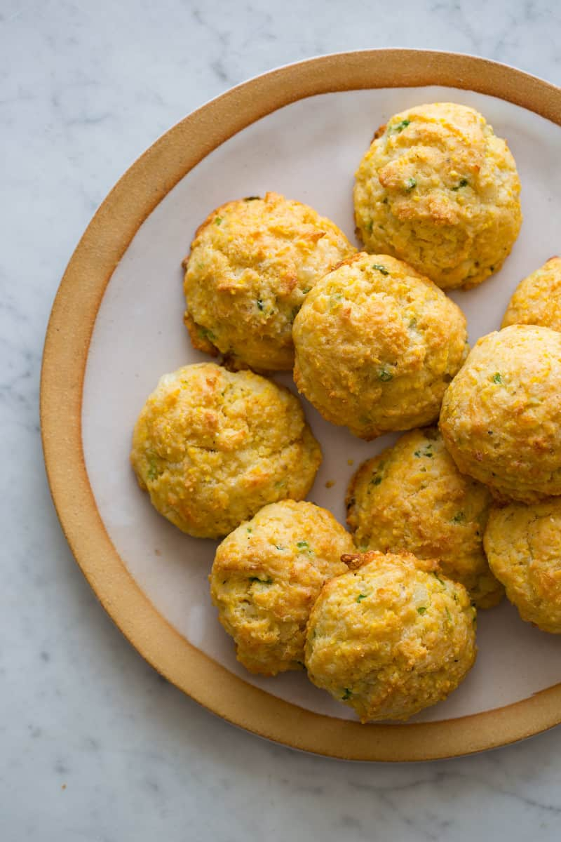 Havarti and Green Onion Cornmeal Biscuits recipe