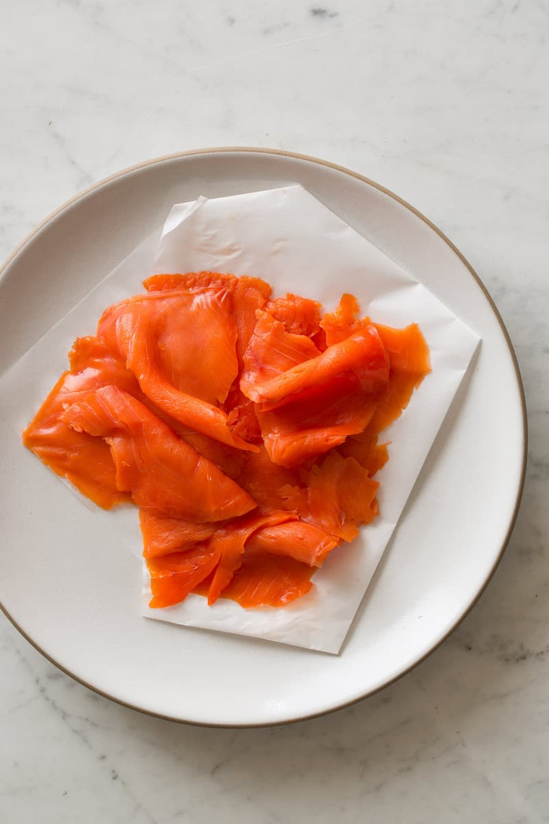 Smoked Salmon for Carpaccio