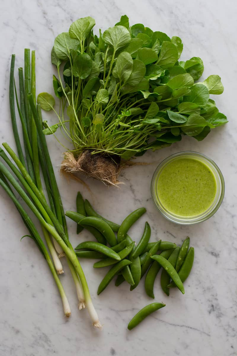 Watercress Salad Ingredients