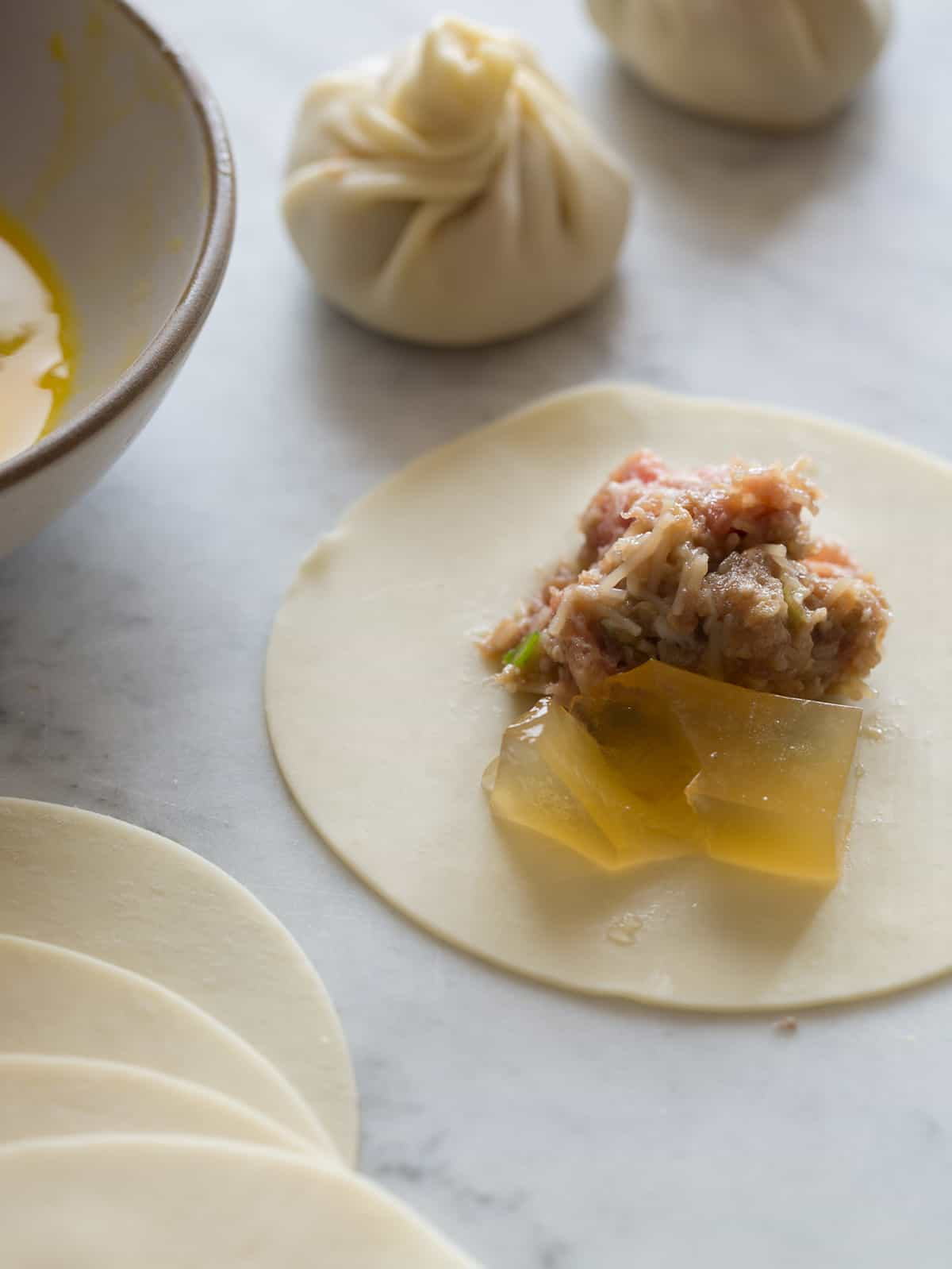 Shanghai Soup Dumplings Recipe Spoon Fork Bacon