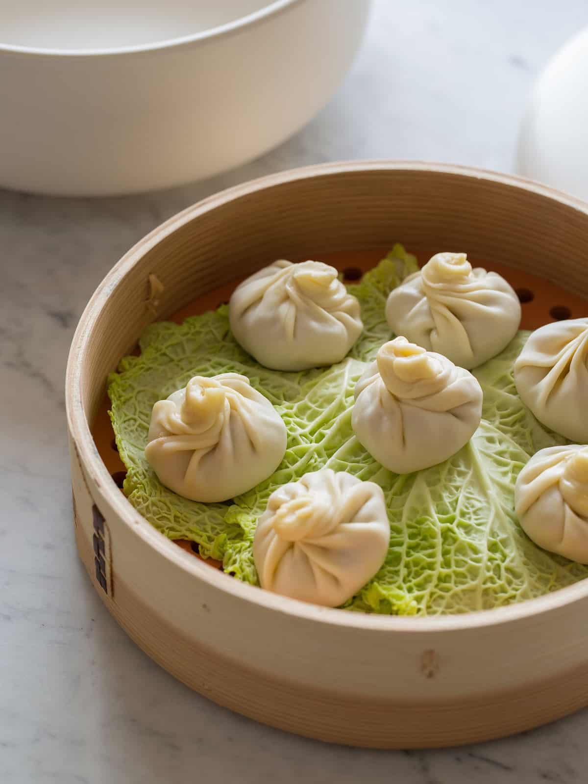 Shanghai Soup Dumplings Recipe Spoon Fork Bacon