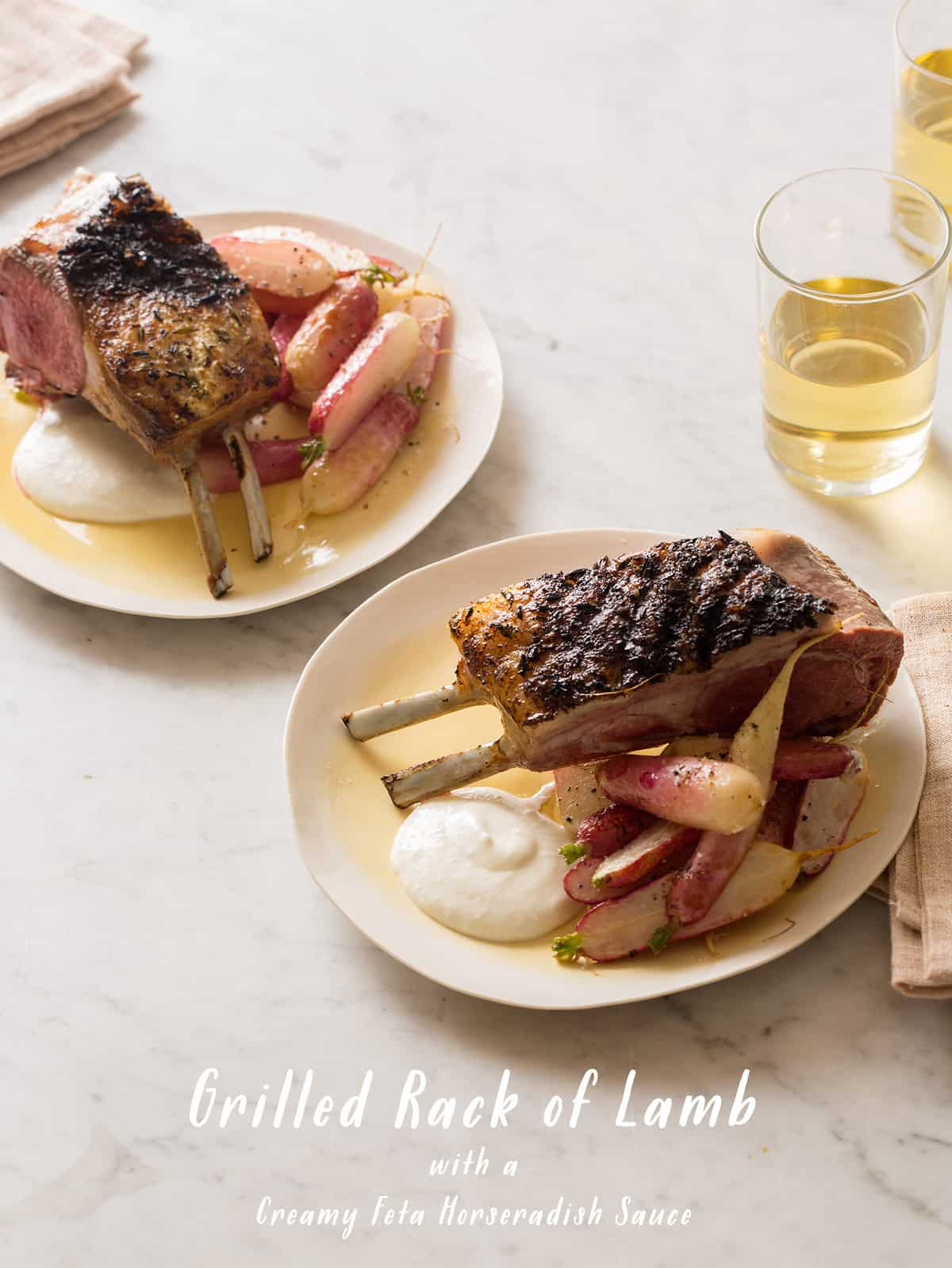 Grilled Rack of Lamb | Spoon Fork Bacon
