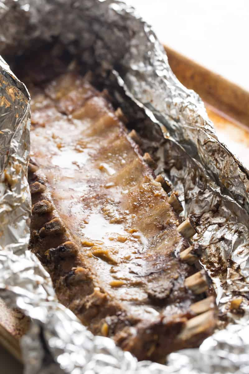 Honey Hoisin Baby Back Ribs recipe
