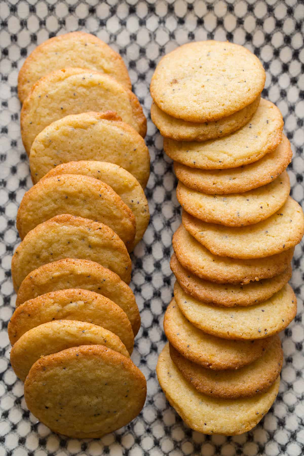 Lemon Poppyseed Cookies Recipe — Dishmaps