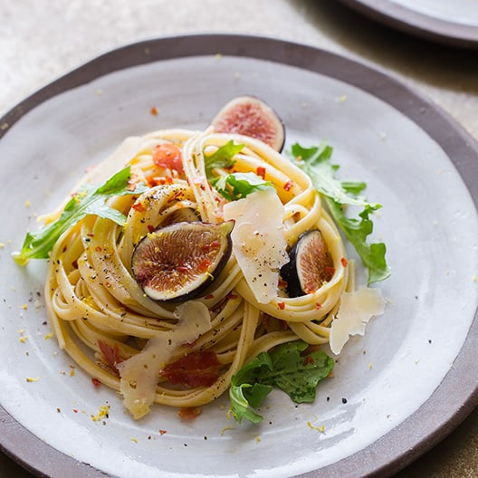 Fresh_Fig_arugula_Pancetta_Pasta