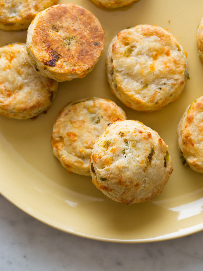 Hatch Chile and Cheddar Biscuits