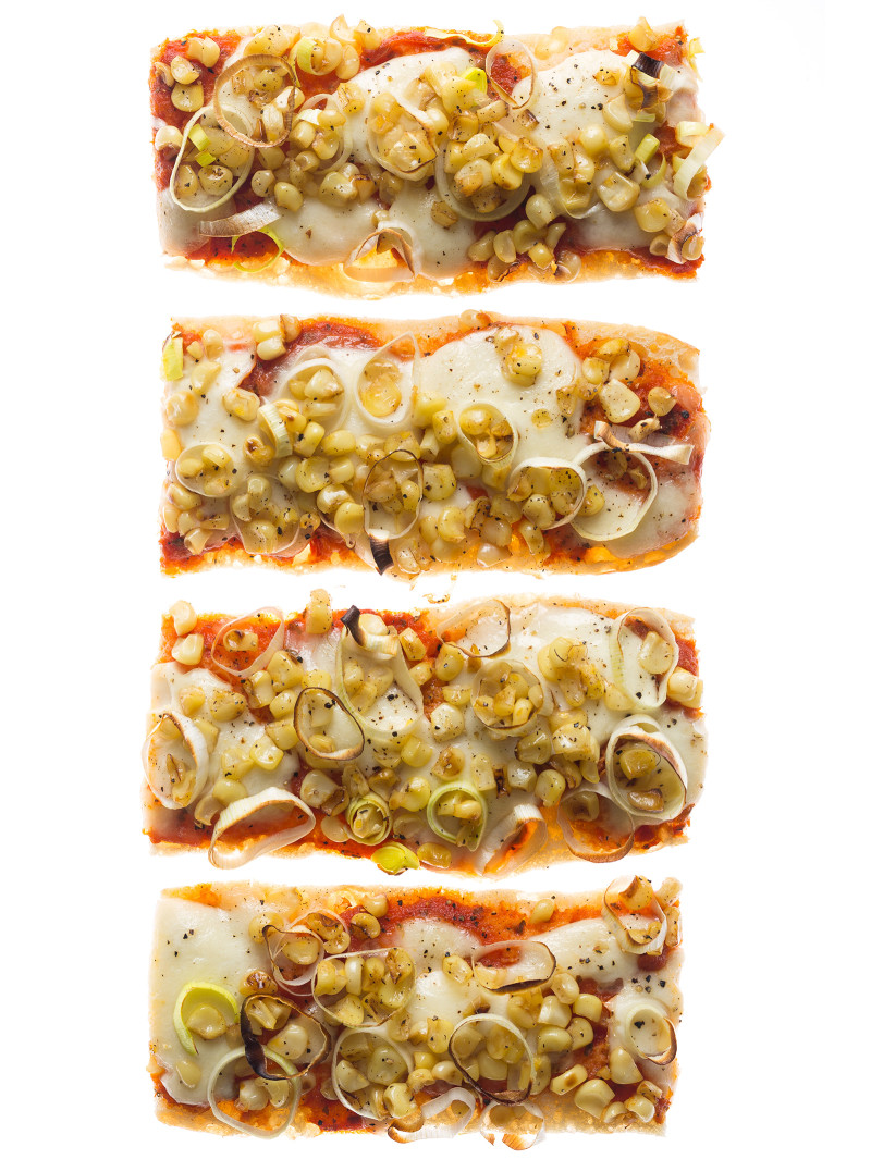 corn_sauteed_leek_Pizza_Boats