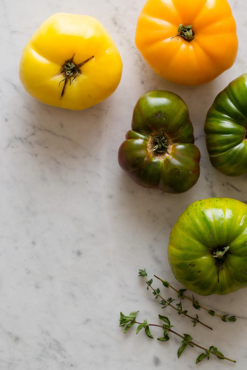 Heirloom Tomatoes and Thyme
