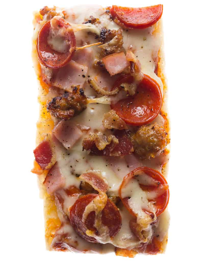 Meat Lovers Pizza Boats