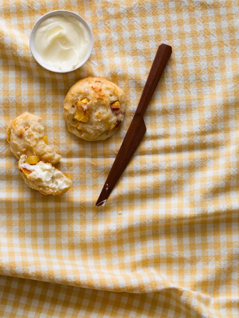 Peaches for Fresh Peach and Yogurt Biscuits recipe