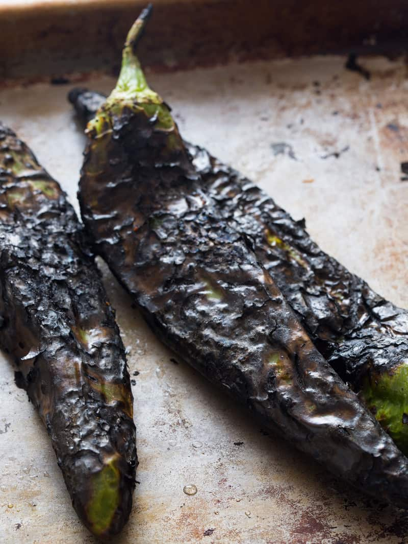 roasted hatch chiles for biscuits