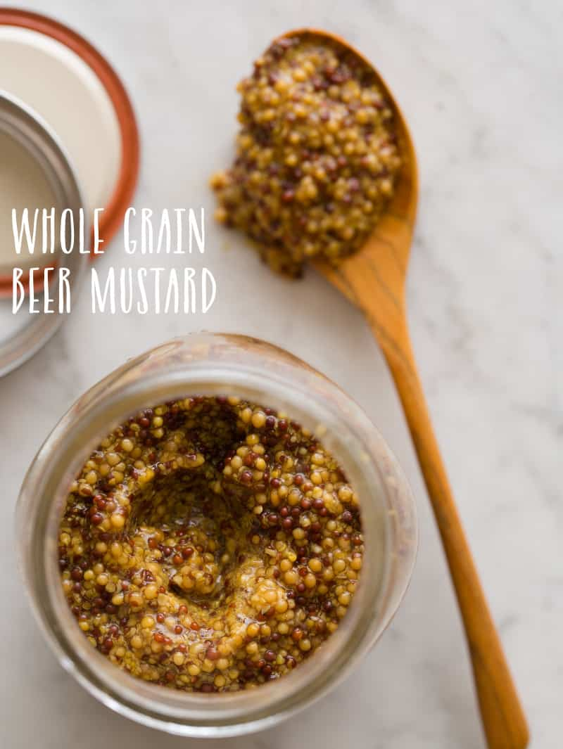 Whole Grain Beer Mustard| Spoon Fork Bacon