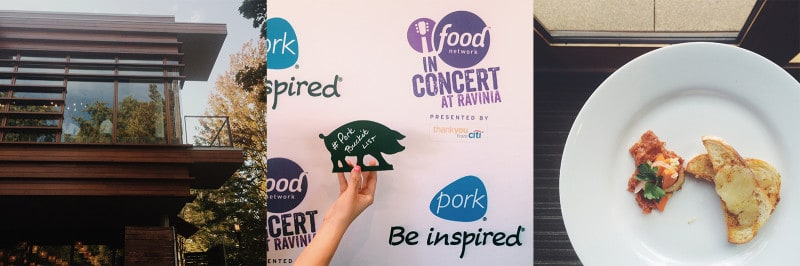 A person holding a pork bucket list pig shaped sign.