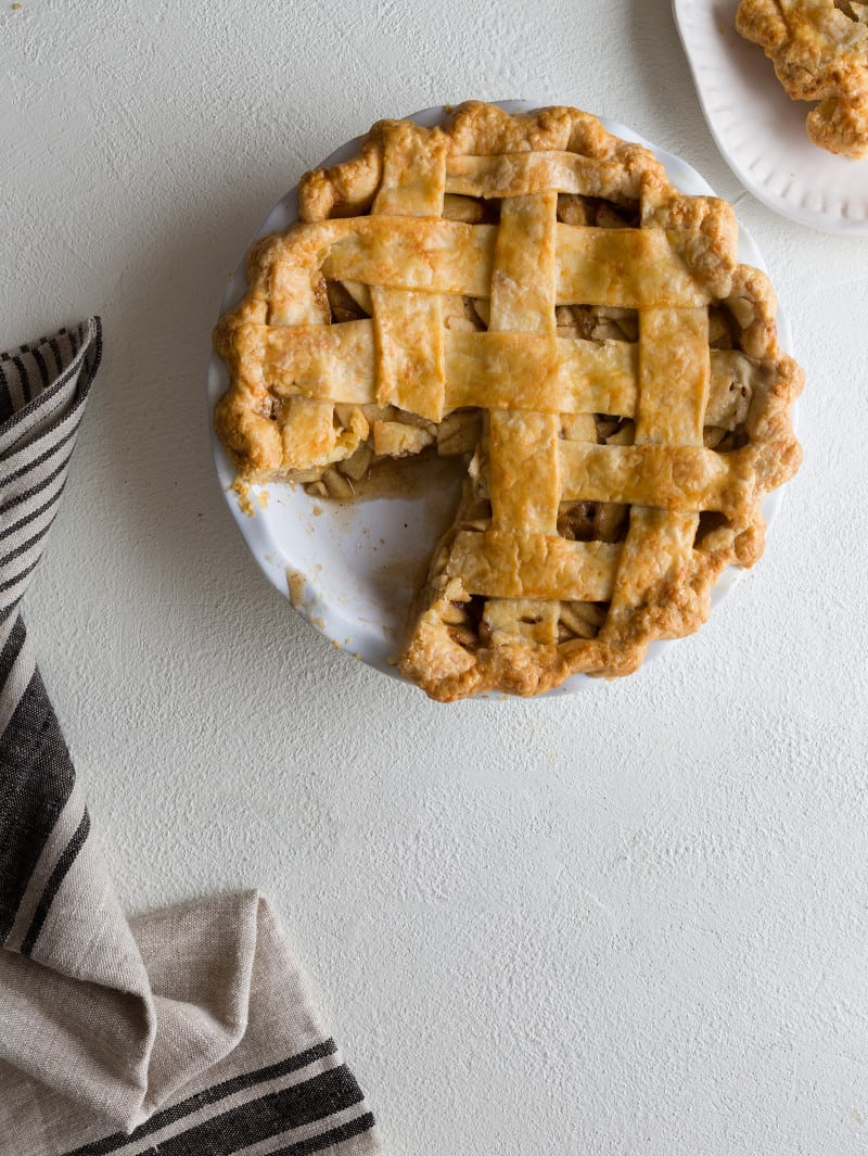 how to make apple pie and crust