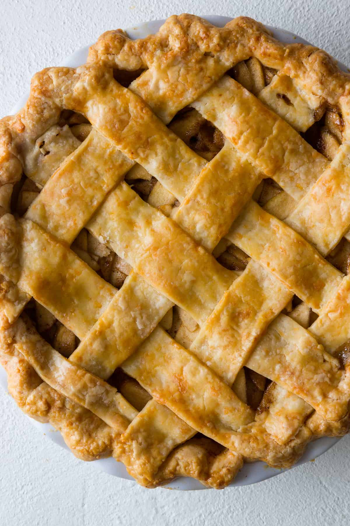 Brown Butter And Cheddar Apple Pie Recipe — Dishmaps