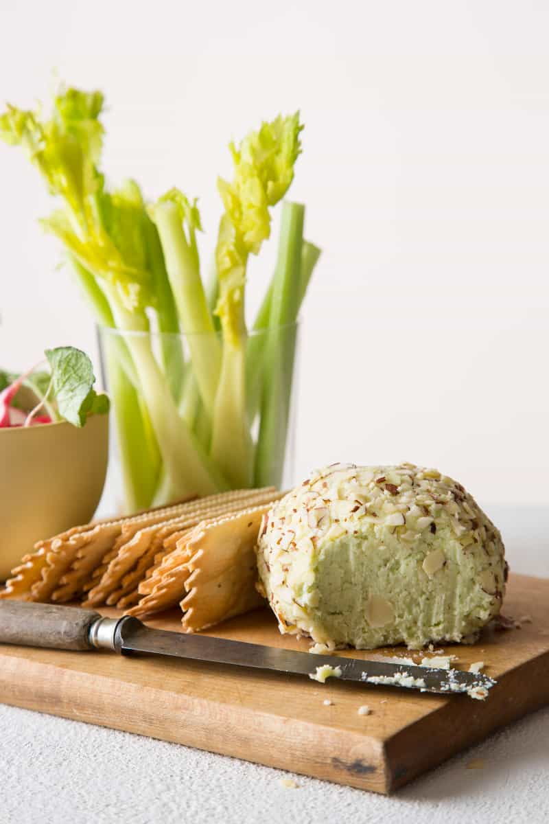 Swiss and Green Onion Cheese Ball recipe