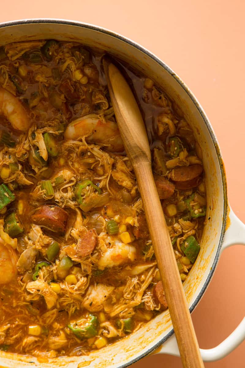 Seafood Andouille Gumbo Recipes — Dishmaps