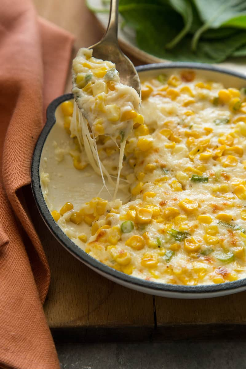 Korean Cheesy Corn | Spoon Fork Bacon