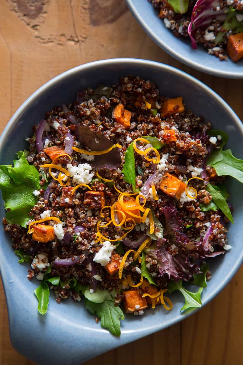 Roasted Sweet Potato and Quinoa Salad | Spoon Fork Bacon