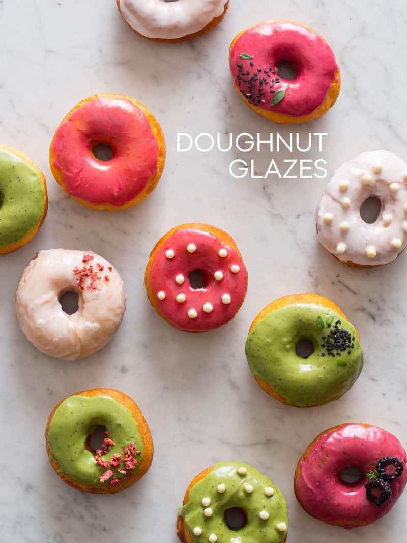 Doughnut Glazes