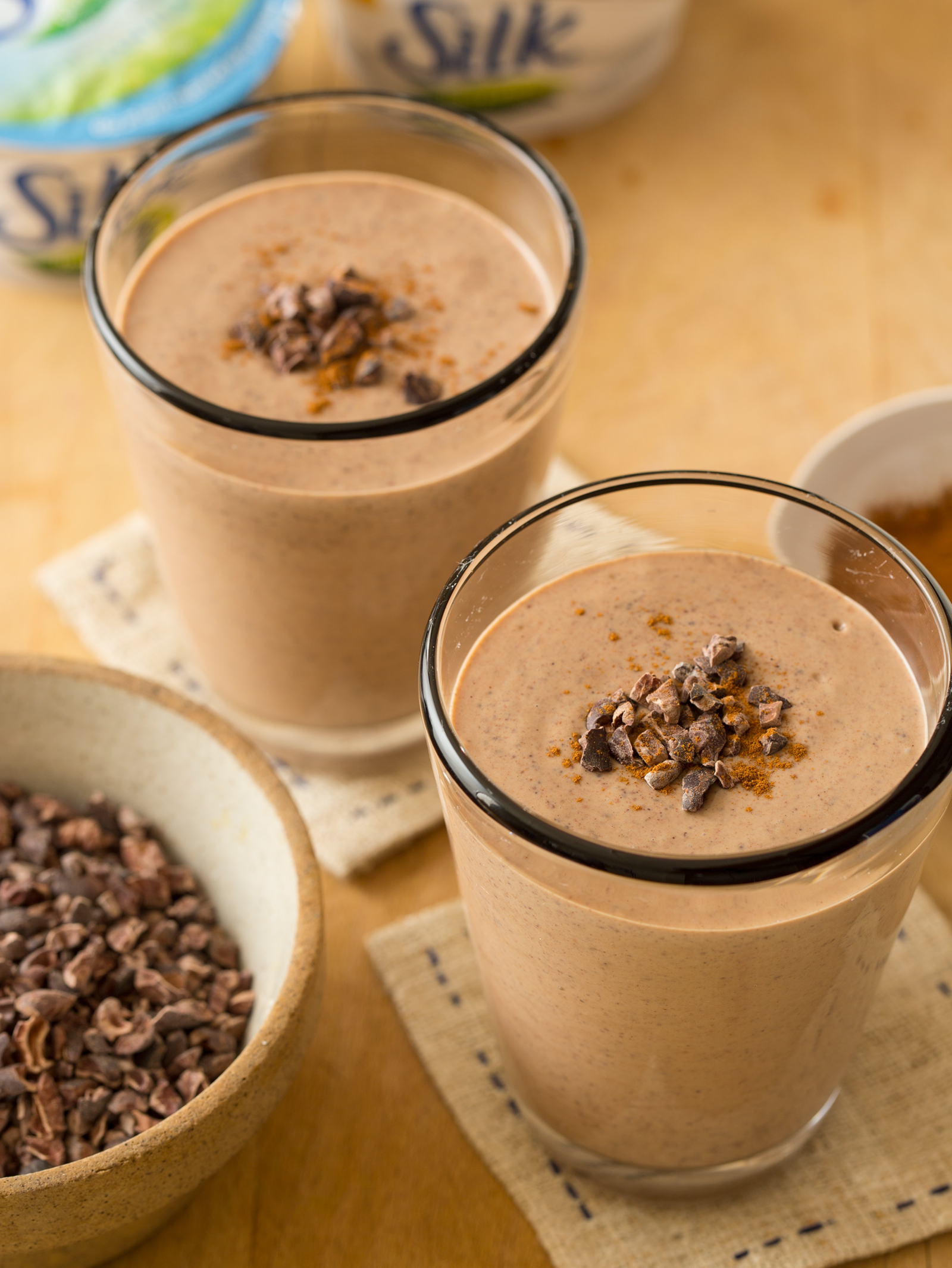 Chocolate Peanut Butter and Cinnamon Smoothie | Spoon Fork Bacon