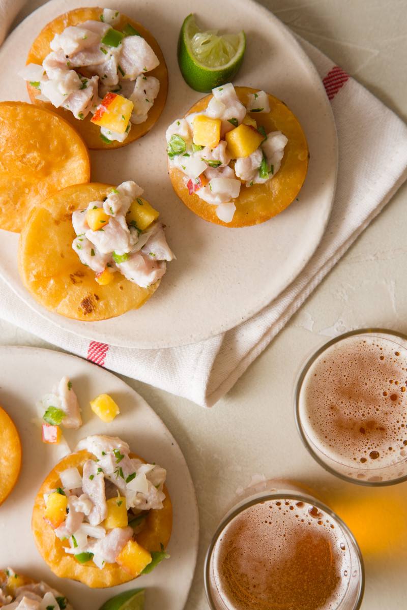 red snapper ceviche serves 4 to 6 ingredients 2 boneless skinless red ...