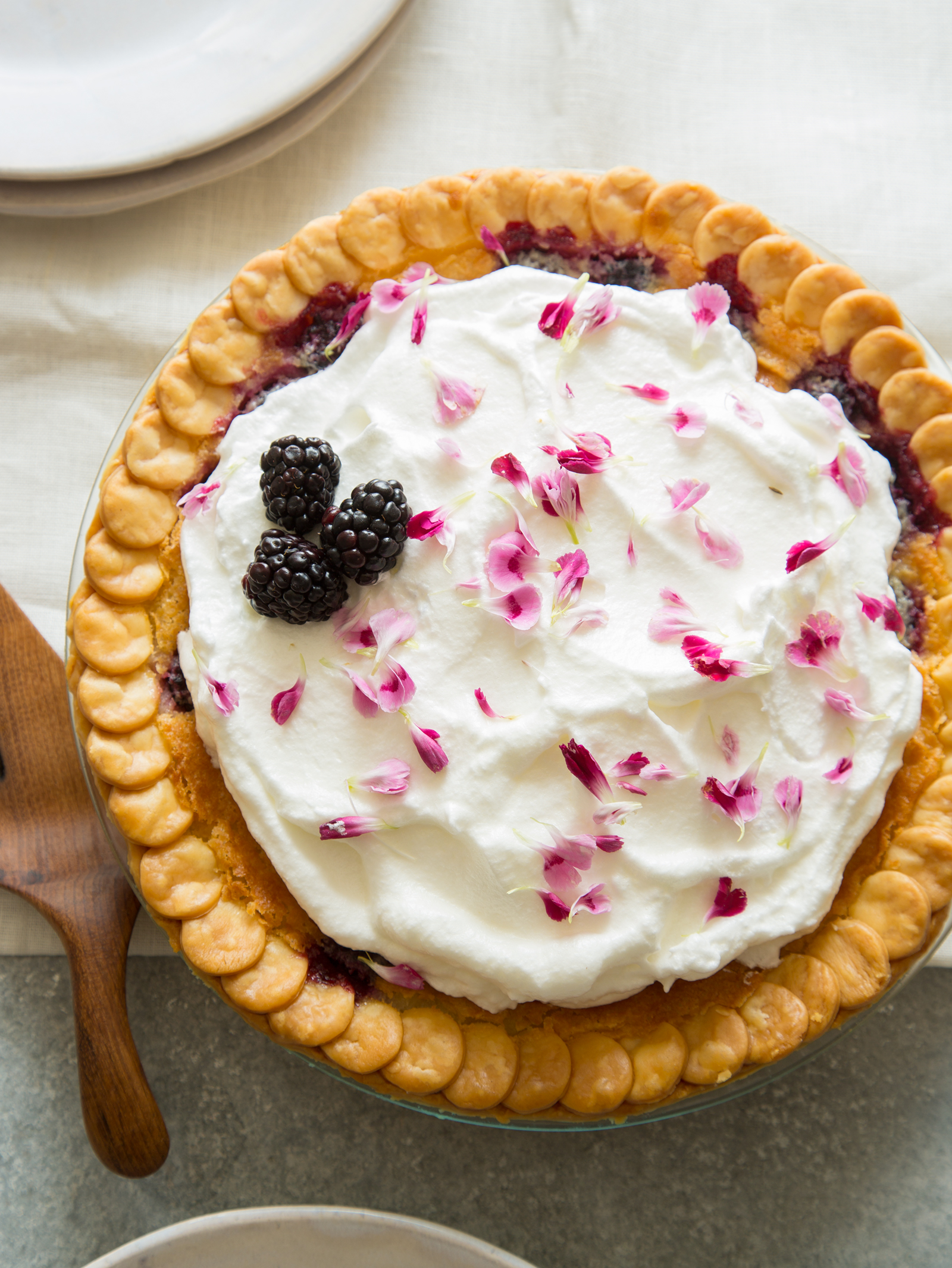Buttermilk and Blackberry Pie | Spoon Fork Bacon