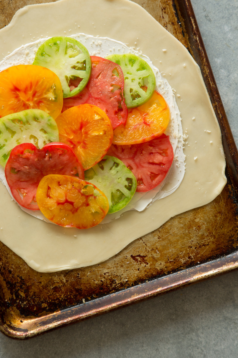 Heirloom Tomato Galette | Spoon Fork Bacon
