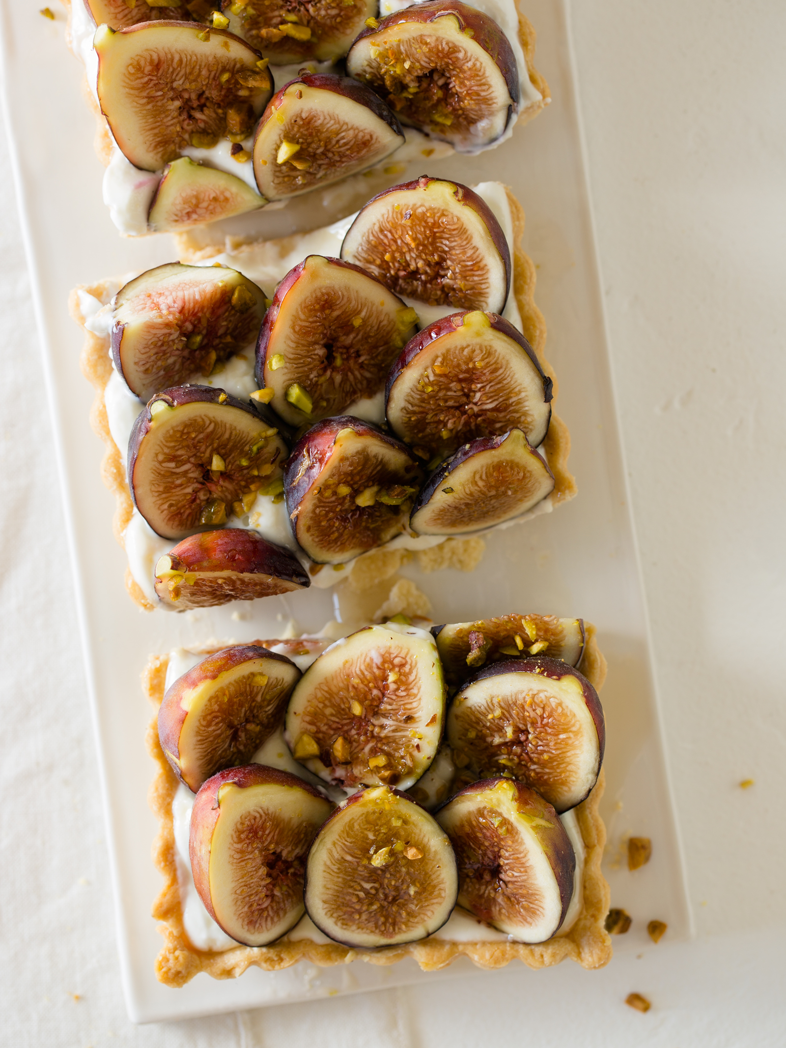 ... ! My favorite. So naturally I love this Fig and Honey-Yogurt Tart