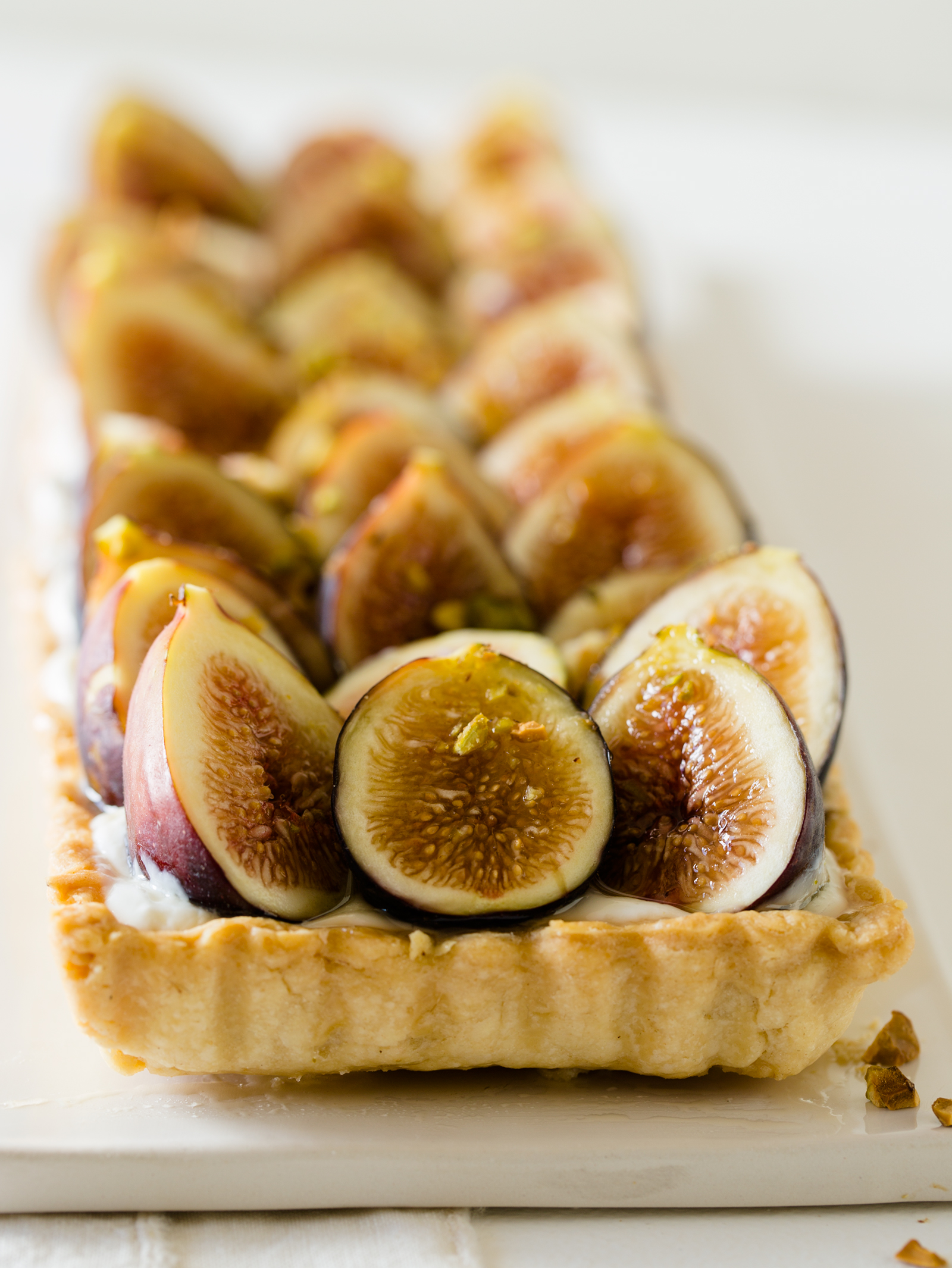 Fig and Honey Yogurt Tart | Spoon Fork Bacon