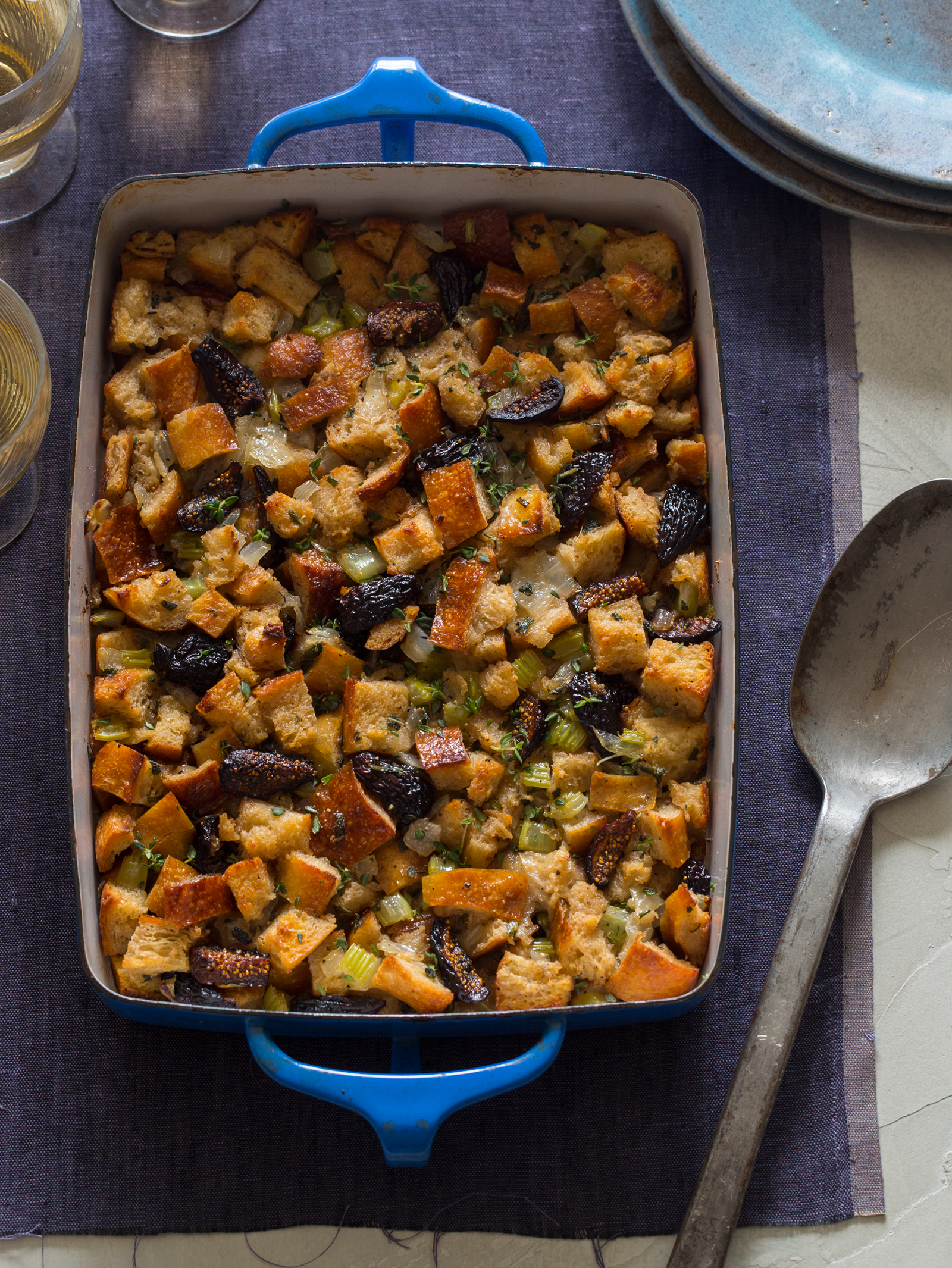 Herb And Bacon Corn-Bread Stuffing Recipes — Dishmaps