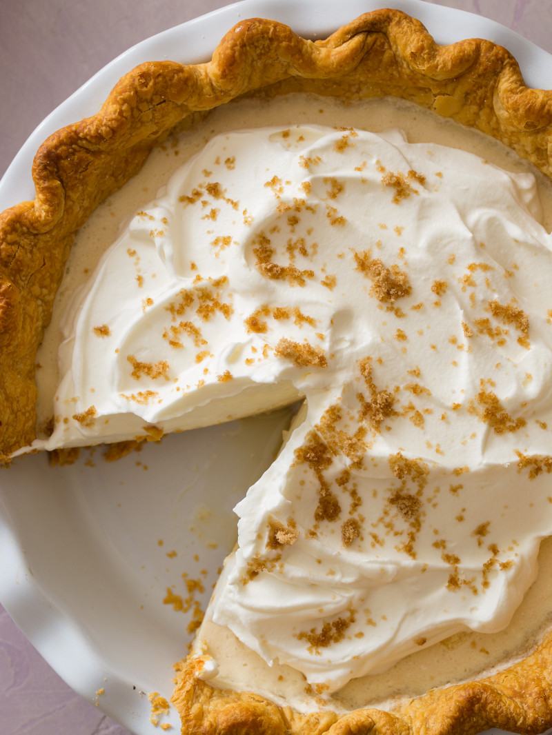 Maple Chiffon Pie | Spoon Fork Bacon