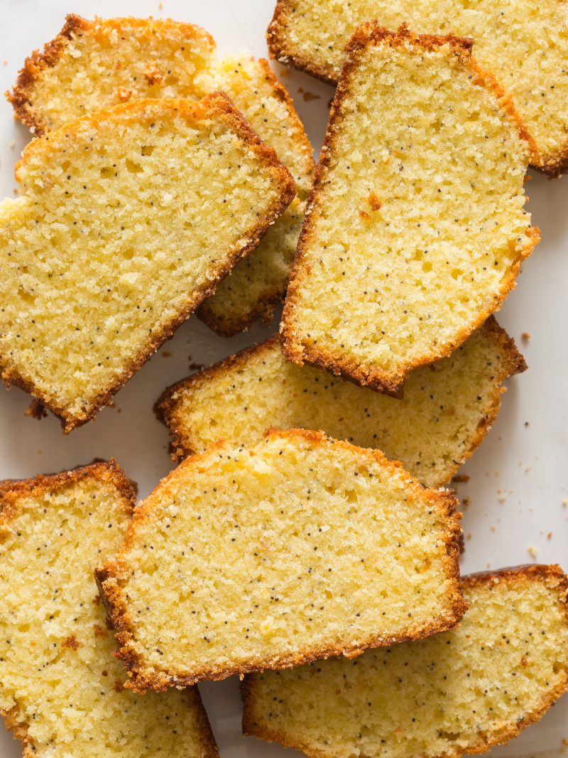 Grapefruit-Poppy Seed Pound Cake (From: The Perfect Egg cookbook )
