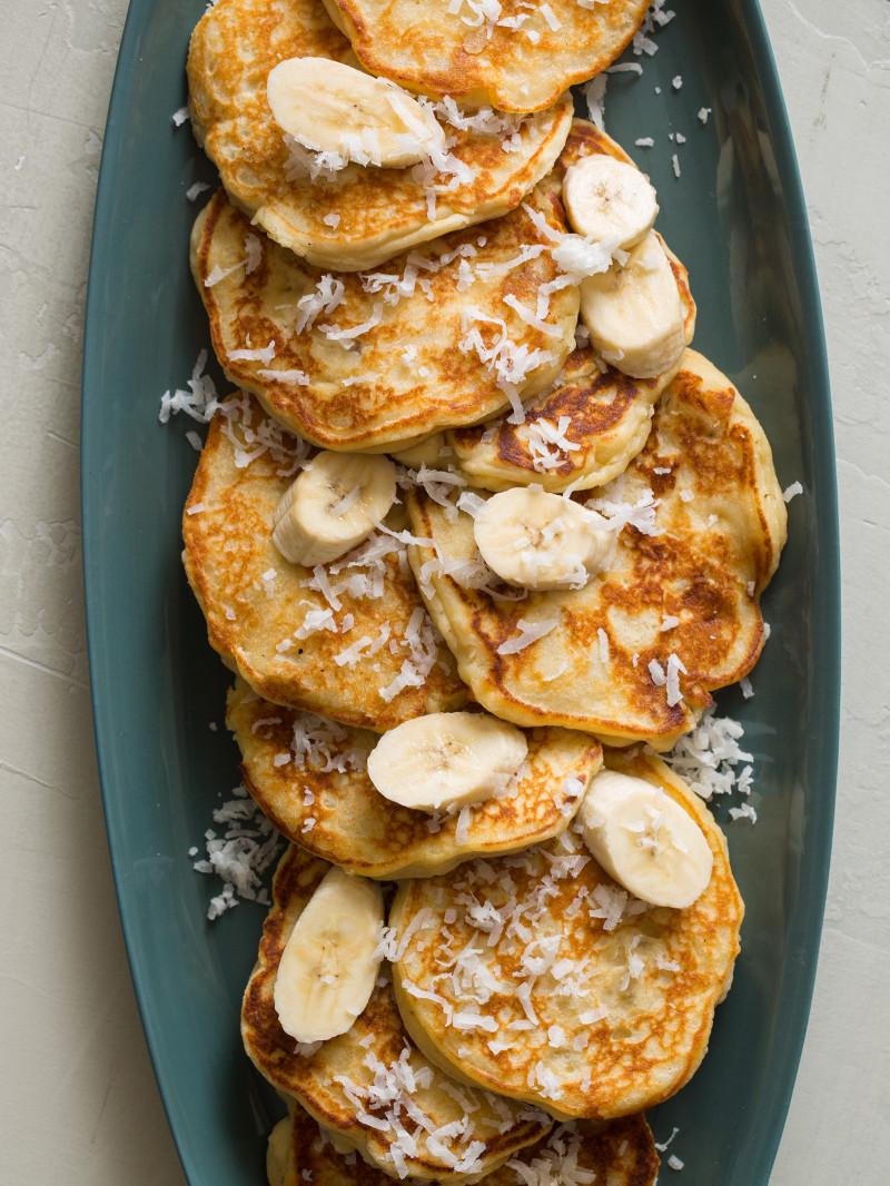 coconut_Banana_pancakes
