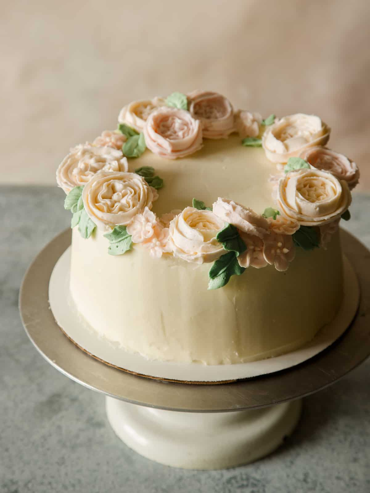 floral_wreath_cake_DIY