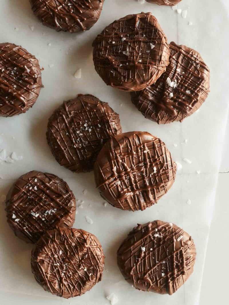 Salted twix cookies.