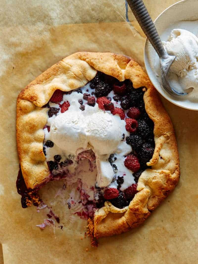 Mixed Berry Galette | Spoon Fork Bacon