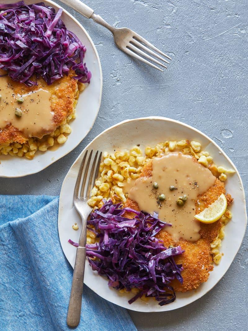schnitzel_cabbage