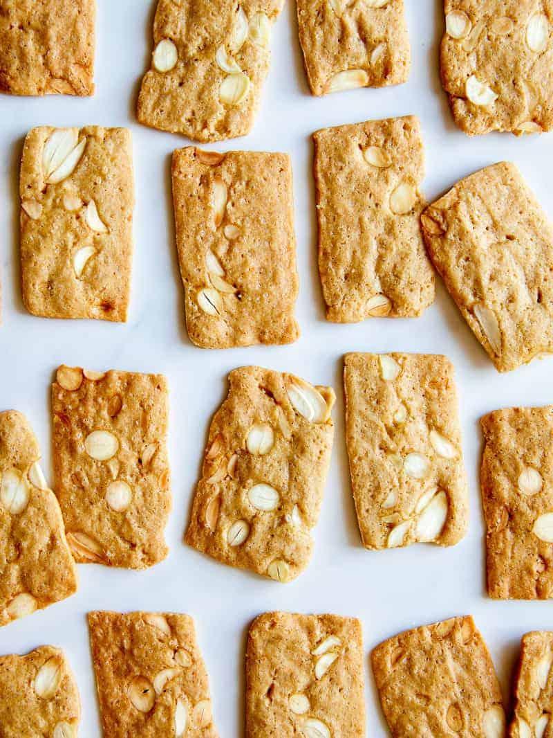 Pain d\'amande cookies.