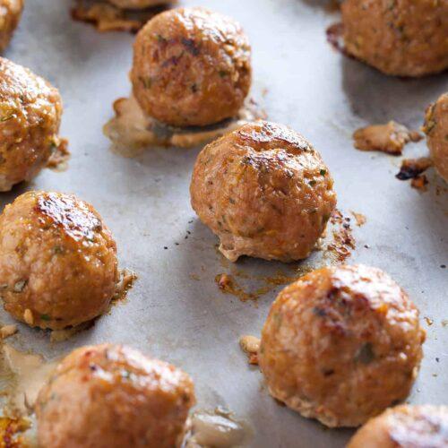 Herbed Turkey Meatballs recipe