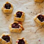 A recipe for Mini Blueberry Galettes.
