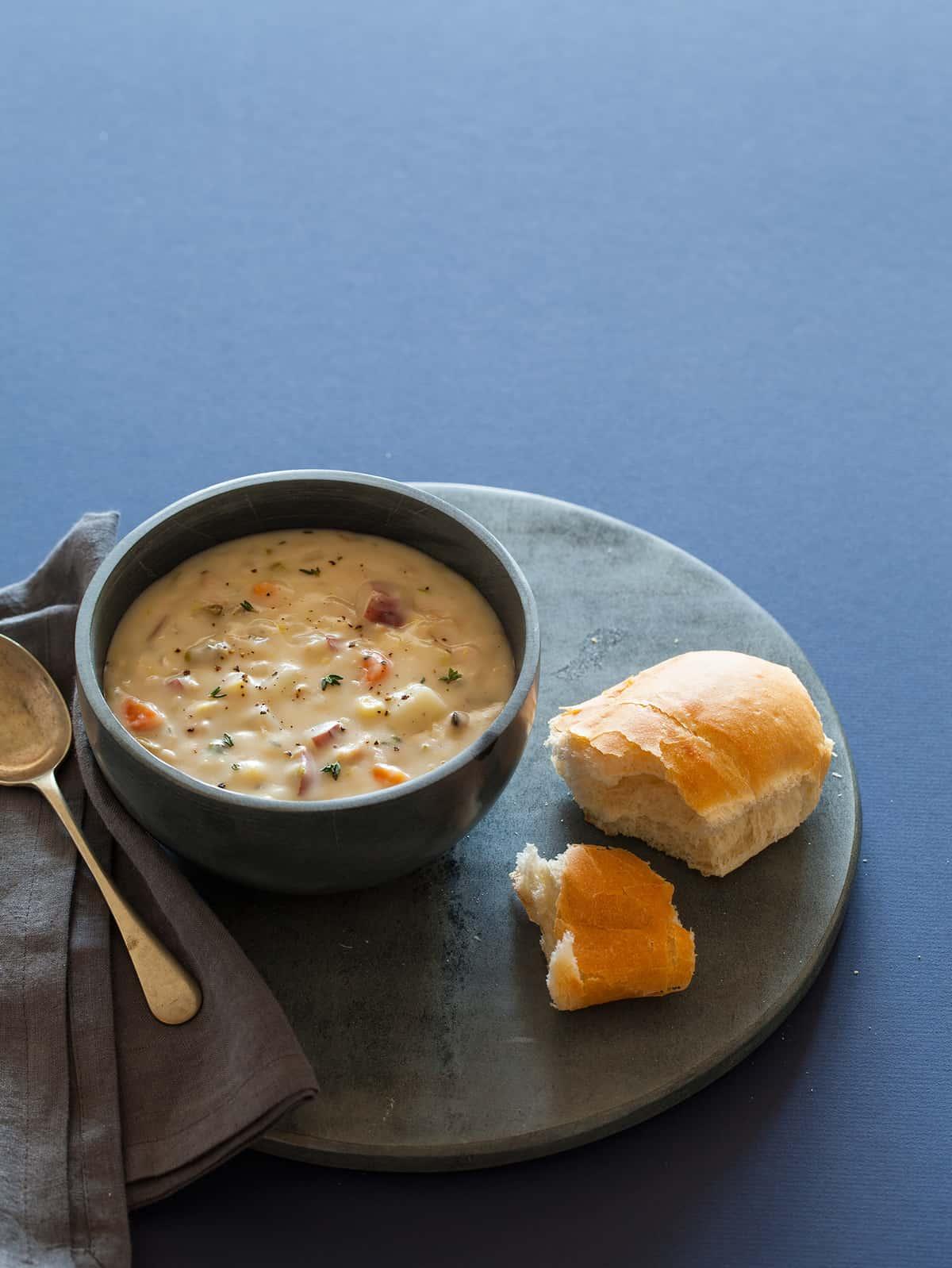 New England Clam Chowder recipe.