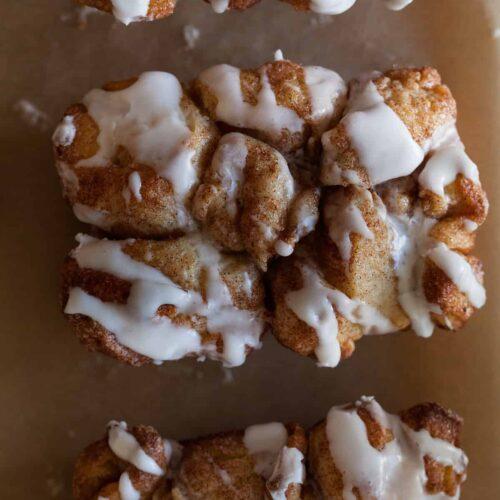 Cinnamon Sugar Messy Bread recipe.
