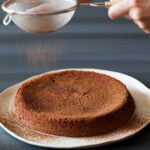 A recipe for a Flourless Chocolate Amaretti Cake