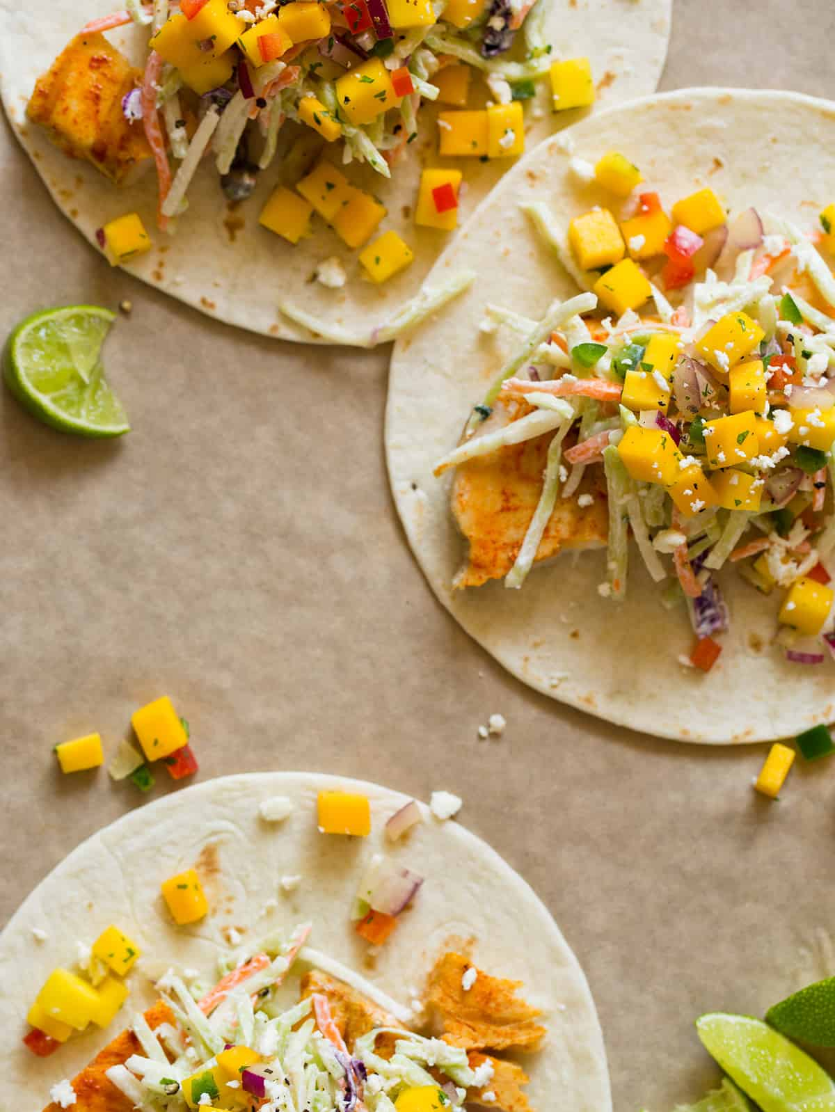 A recipe for Achiote Grilled Fish Tacos